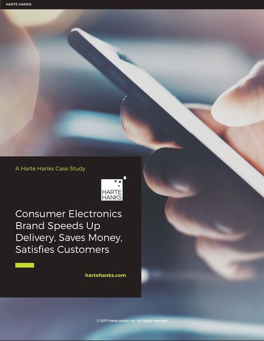 Consumer Brand Speeds Up Delivery, Saves Money, Satisfies Customers