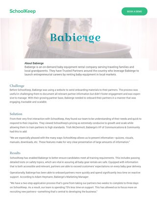 Babierge Testimonial