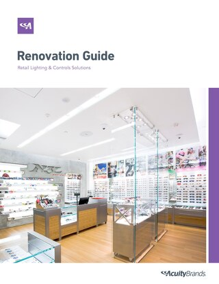 Renovation Guide to Retail Lighting & Controls