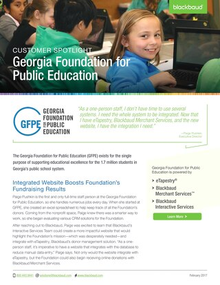 Customer Spotlight: Georgia Foundation for Public Education