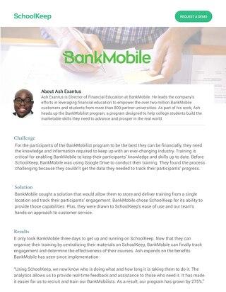Bankmobile Testimonial