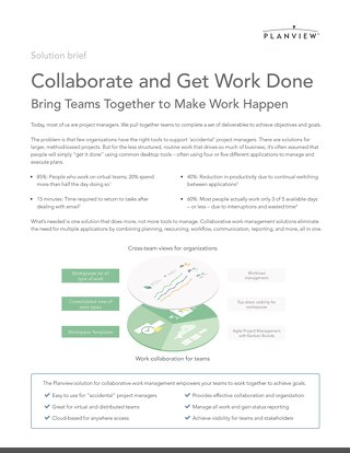 Collaborate and Get Work Done