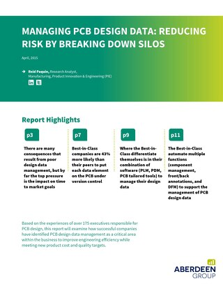 Managing PCB Design Data: Reducing Risk by Breaking Down Silos