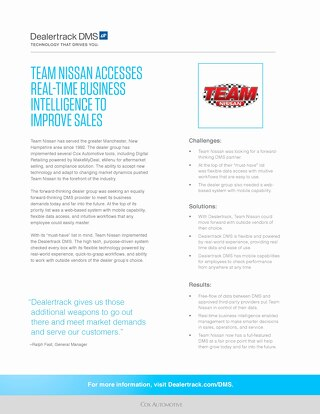 Team Nissan Case Study