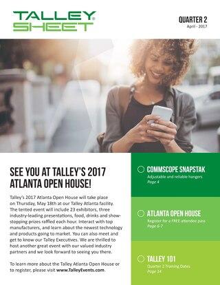 2017 Q2 Talley Sheet