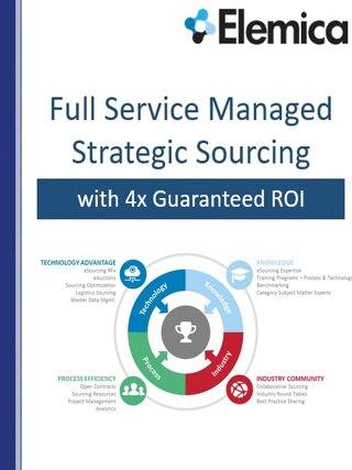 Elemica Full Service Strategic Sourcing 2017