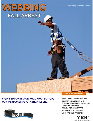 TapeCraft® Brand Fall arrest safety energy absorber tear catalog