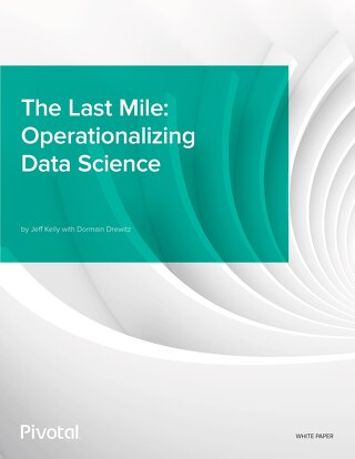 The Last Mile: Operationalizing Data Science