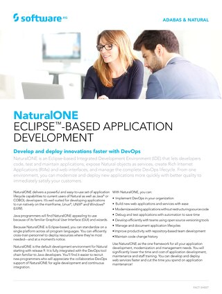 NaturalONE Eclipse™-based Application Development