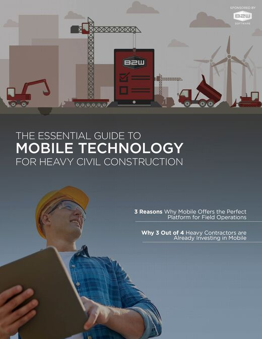 Essential Guide to Mobile Technology for Heavy Civil Construction
