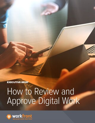 How to Review and Approve Digital Work