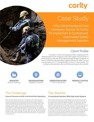 Westmoreland Coal Case Study