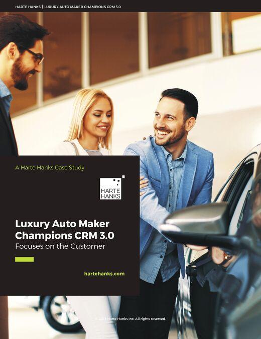 Luxury Auto Maker Champions CRM 3.0, Focuses on the Customer
