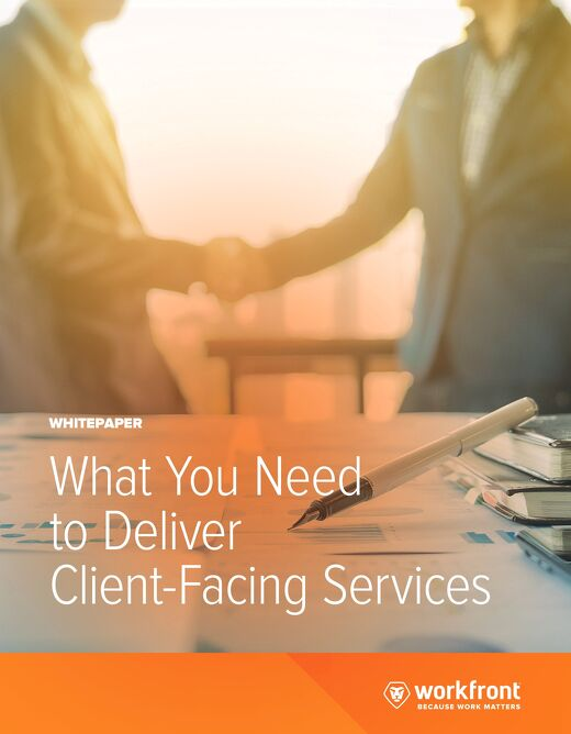 What You Need to Deliver Client-Facing Services