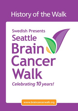 Seattle Brain Cancer Walk History
