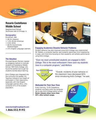Castellanos Middle School Case Study
