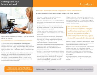 Occupational health one page FRA