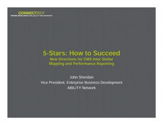 John Sheridan: 5 Stars: How to Succeed