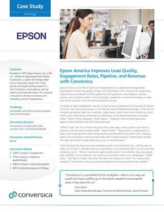 Epson America case study