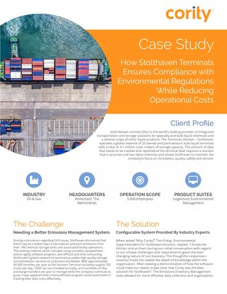 Stolthaven Houston Case Study