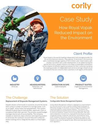Vopak Case Study