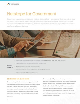 Netskope for Government
