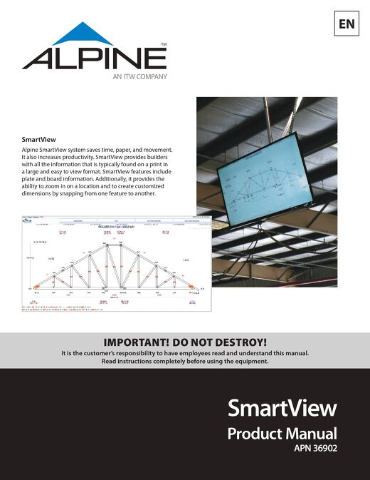 SmartView Product Manual