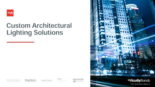 Custom Architectural Lighting Solutions Project Book