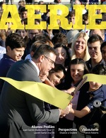 Cover of the 2017 Summer Edition of Palmer Trinity School's Aerie magazine