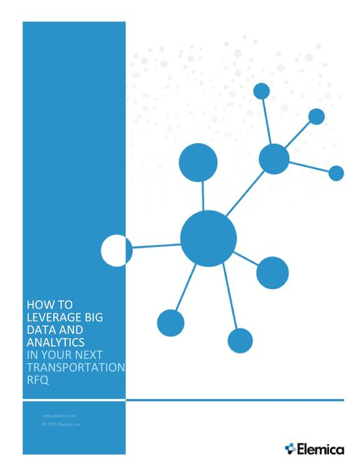 How to Leverage Big Data and Analytics in Your Next Transportation RFQ