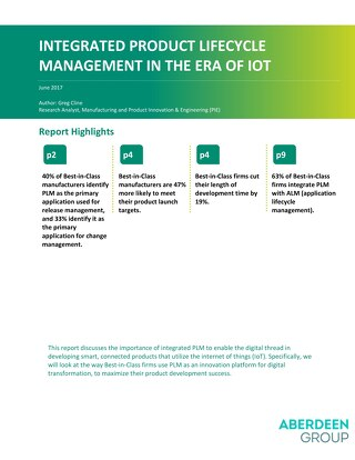 Integrated Product Lifecycle Management in the Era of IoT