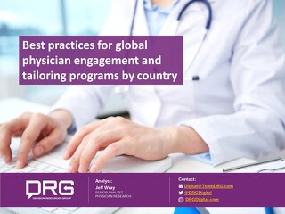 Best practices for global physician engagement and tailoring programs by country