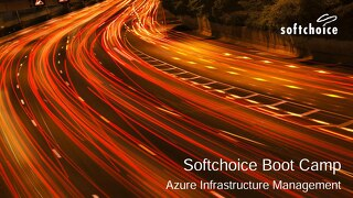 Presentation - Azure Infrastructure Management Boot Camp
