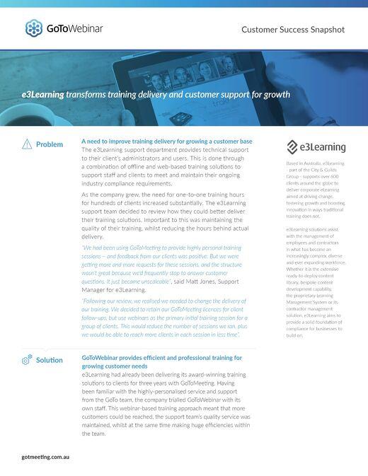 e3Learning