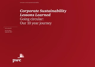 PwC Lessons Learned: Going Circular
