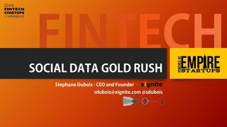 Fintech Social Data Gold Rush