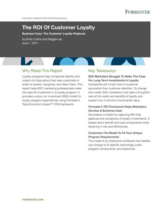 The ROI Of Customer Loyalty