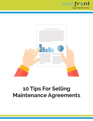 10 Tips for Selling Maintenance Agreements