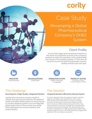 Global Pharma Company Case Study
