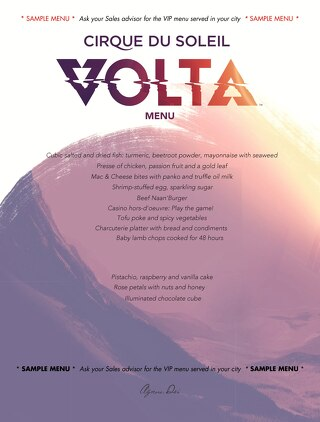 Volta_Sample menu