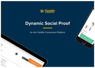 Yieldify Dynamic Social Proof