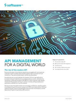 White Paper: API Management