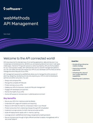 webMethods API Management