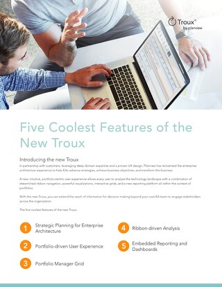 Troux – Five Coolest Features