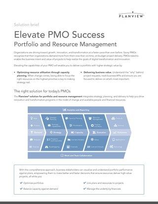 Elevate PMO Success