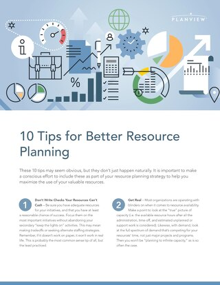 10 Tips for Better Resource Planning