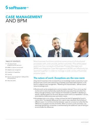 Case management & BPM