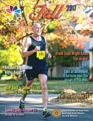 Park District of Oak Park Fall Program Guide 2017