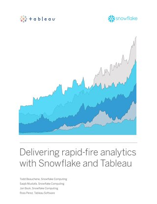 Delivering Rapid Fire Analytics with Snowflake and Tableau