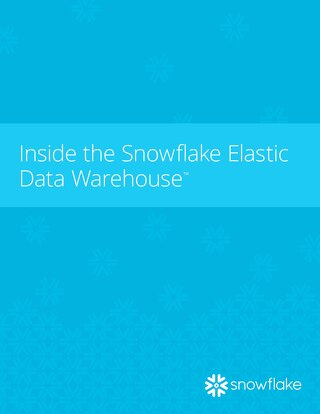 Inside the Elastic Data Warehouse